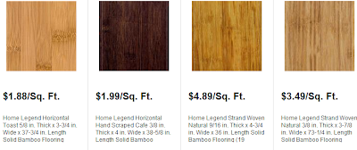 How much does bamboo flooring cost