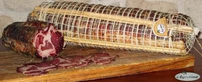 il capocollo della Macelleria Agostino di Mirto