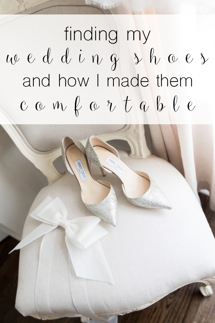 how to make heels comfortable, wedding shoes, how to pick wedding shoes, how to make wedding shoes comfortable