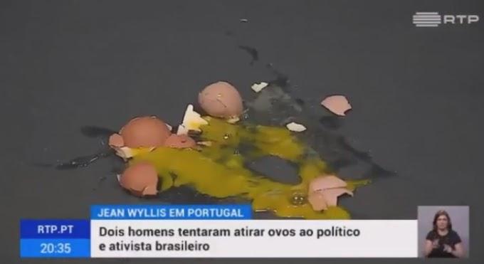 Jean Wyllys é alvo de protestos e ovadas durante palestra em Portugal