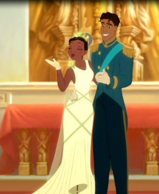 Tiana vestido de noiva
