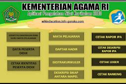 Download Aplikasi Nilai Madrasah MTS Resmi Emis Pendas 2017