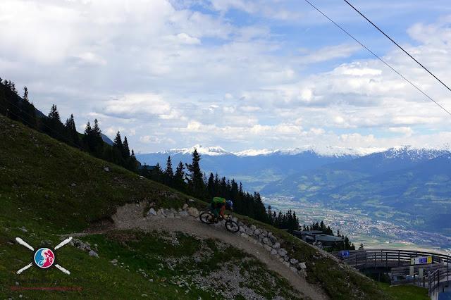 Trail von der Nordkette Innsbruck