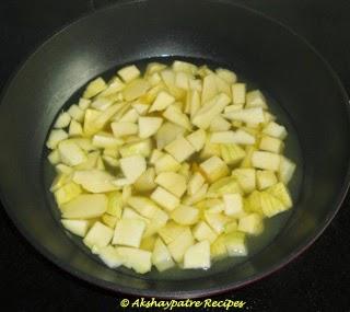 boil the mango