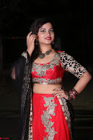 Sirisha Dasari in Red Ghagra Backless Choli ~  022.JPG