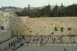 El Muro de las Lamentaciones y la explanada, en Jerusalén