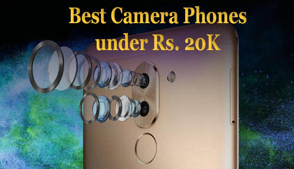 Best Camera Phones under Rs 20000