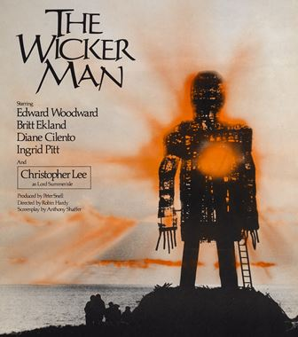 The Wicker Man, 1973, folk horror