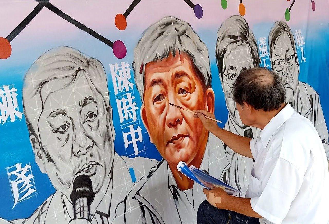 「防疫五月天」5/30訪台南|國寶大師「顏振發」送上手繪傳神畫像