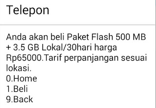 Harga Paket Simpati Flash Naik di Pulau Sumbawa