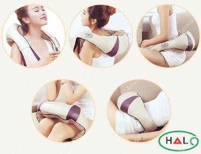 Đai massage vai 3D Shika