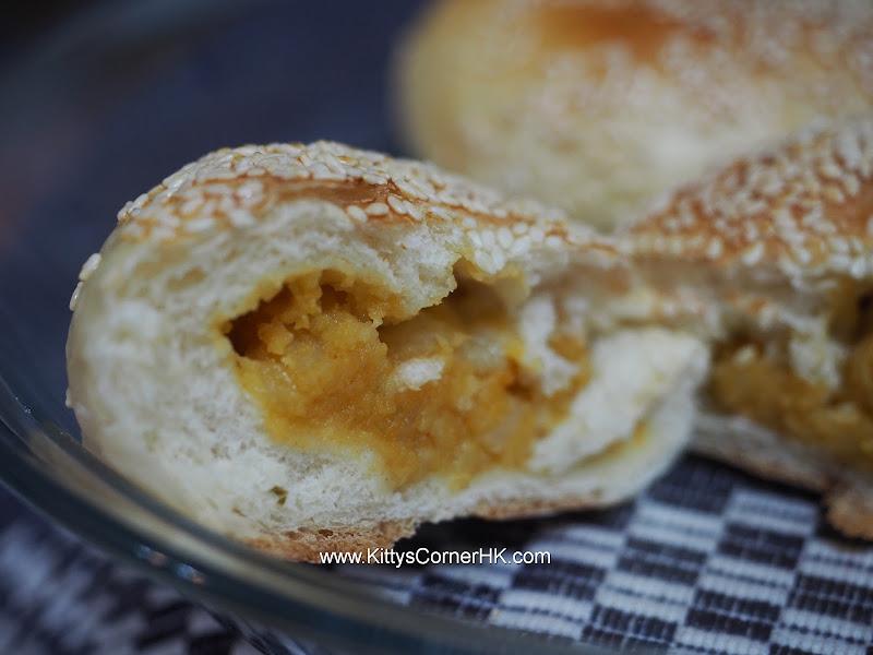 Curry potato bread 咖哩薯仔包 自家烘焙 食譜 home baking recipes
