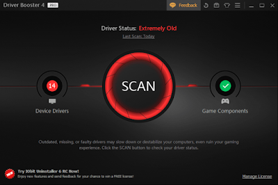 IObit Driver Booster Pro v4.1.0 with Serial Key Download