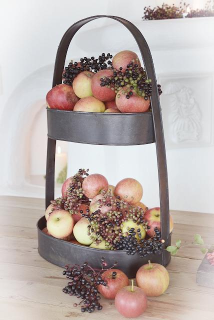 Apfeldeko - Herbstliche Deko-Ideen im Landhausstil