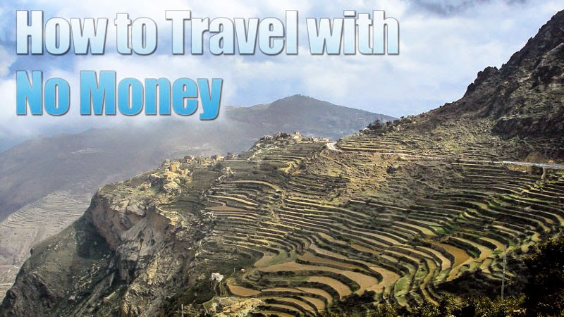 How to Travel Without Any Money At All