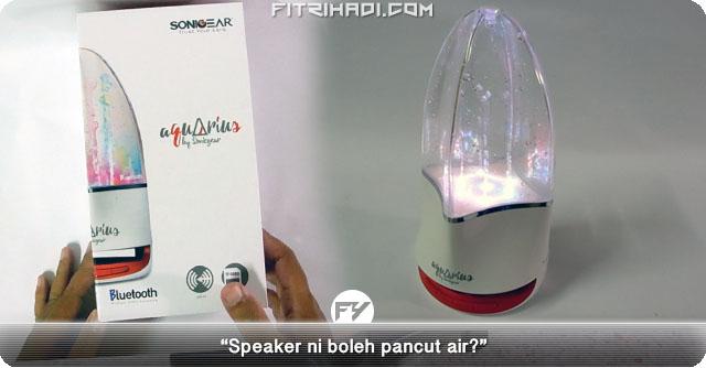 Speaker Bluetooh Aquarius By Sonicgear