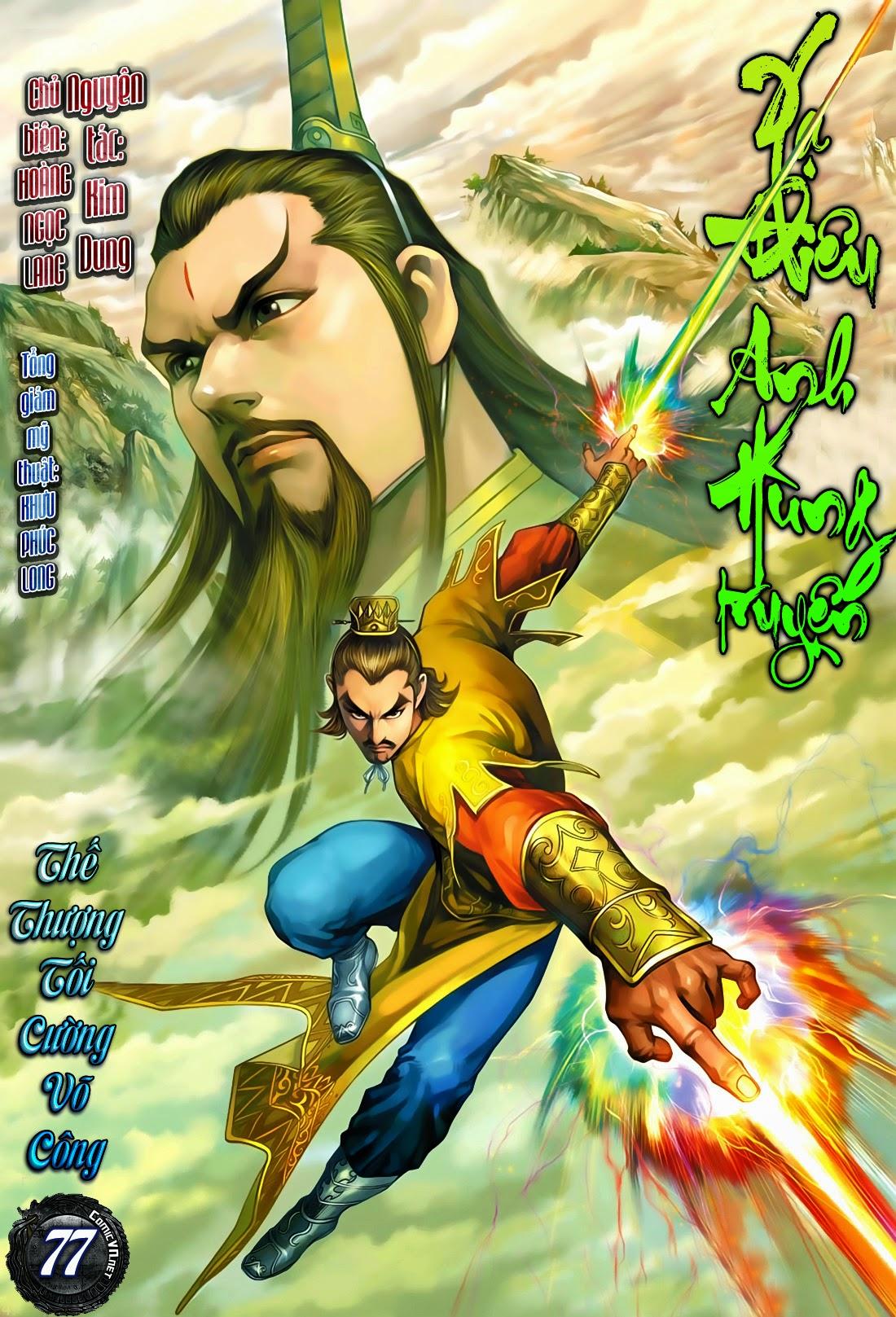Anh Hùng Xạ Điêu anh hùng xạ đêu chap 77: thế thượng tối cường võ công trang 1