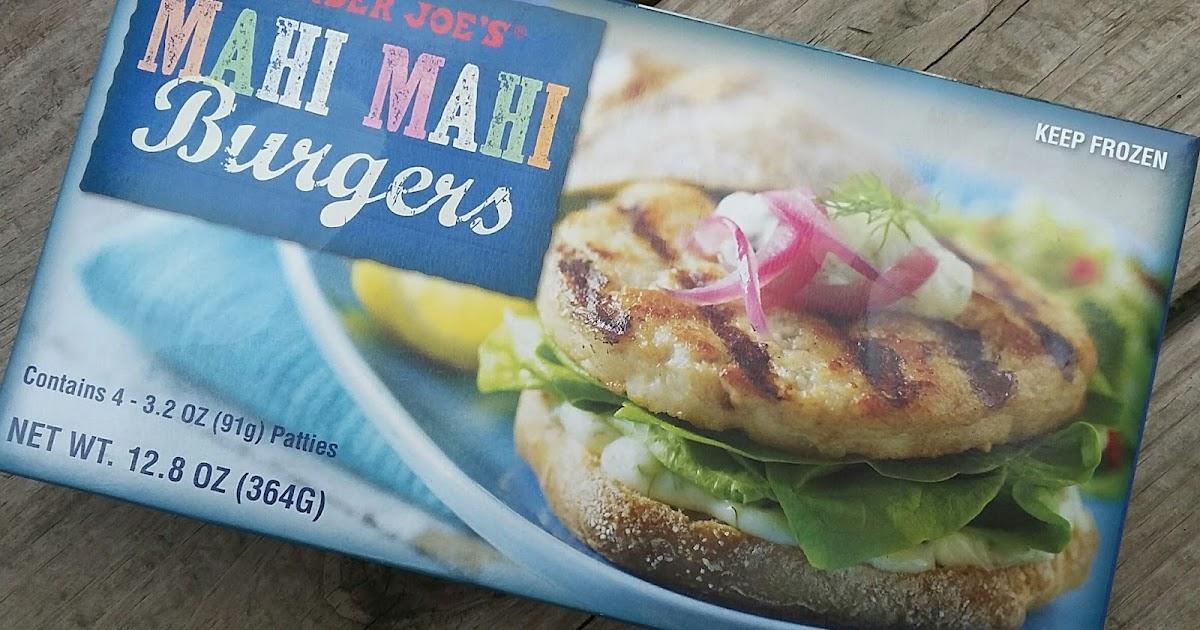 What S Good At Trader Joe S Trader Joe S Mahi Mahi Burgers