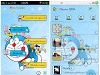BBM Doraemon Versi 2.9.0.51 Apk Terbaru