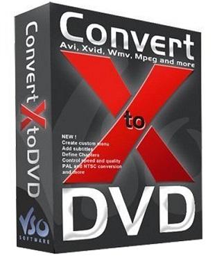 VSO ConvertXtoDVD 7.0.0.43 poster box cover