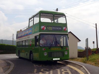 Crosville Service 100 at Sand Bay Terminus
