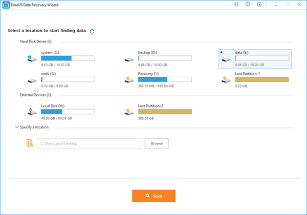 Free SD Card Recovery Software Recovers Deleted/Lost Files