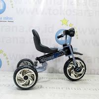 Sepeda Roda Tiga Wimcycle A6A Batman Suspensi Lisensi