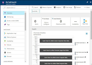 Application Insights instance Created