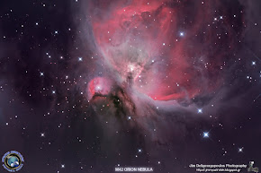 m42 nebulae at orion