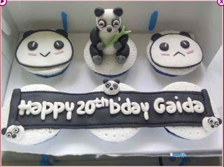 Kue Ulang Tahun Anak Panda