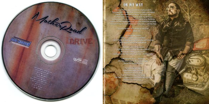 MOTHER ROAD - Drive [retail CD] booklet