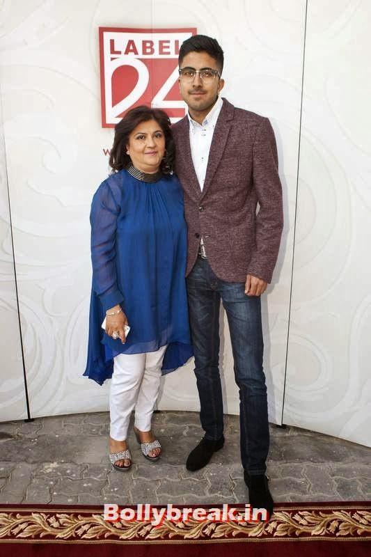 Minal and Mihir Gokani, Jacqueline Fernandez in Dubai