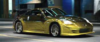 2002 Nissan 350z From The Fast And Furious Tokyo Drift