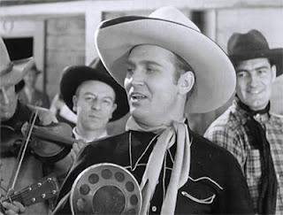 Gene Autry como el cowboy cantante en el Imperio Fantasma