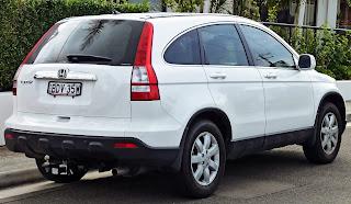 Tampilan Belakang Honda CR-V