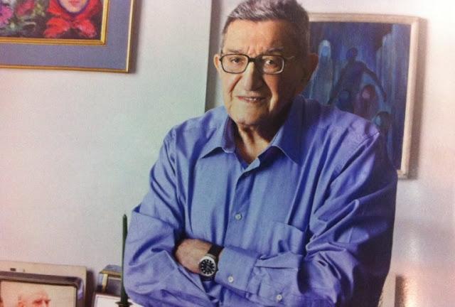Έφυγε από τη ζωή σε ηλικία 93 ετών ο δάσκαλος της δημοσιογραφίας Χρήστος Πασαλάρης