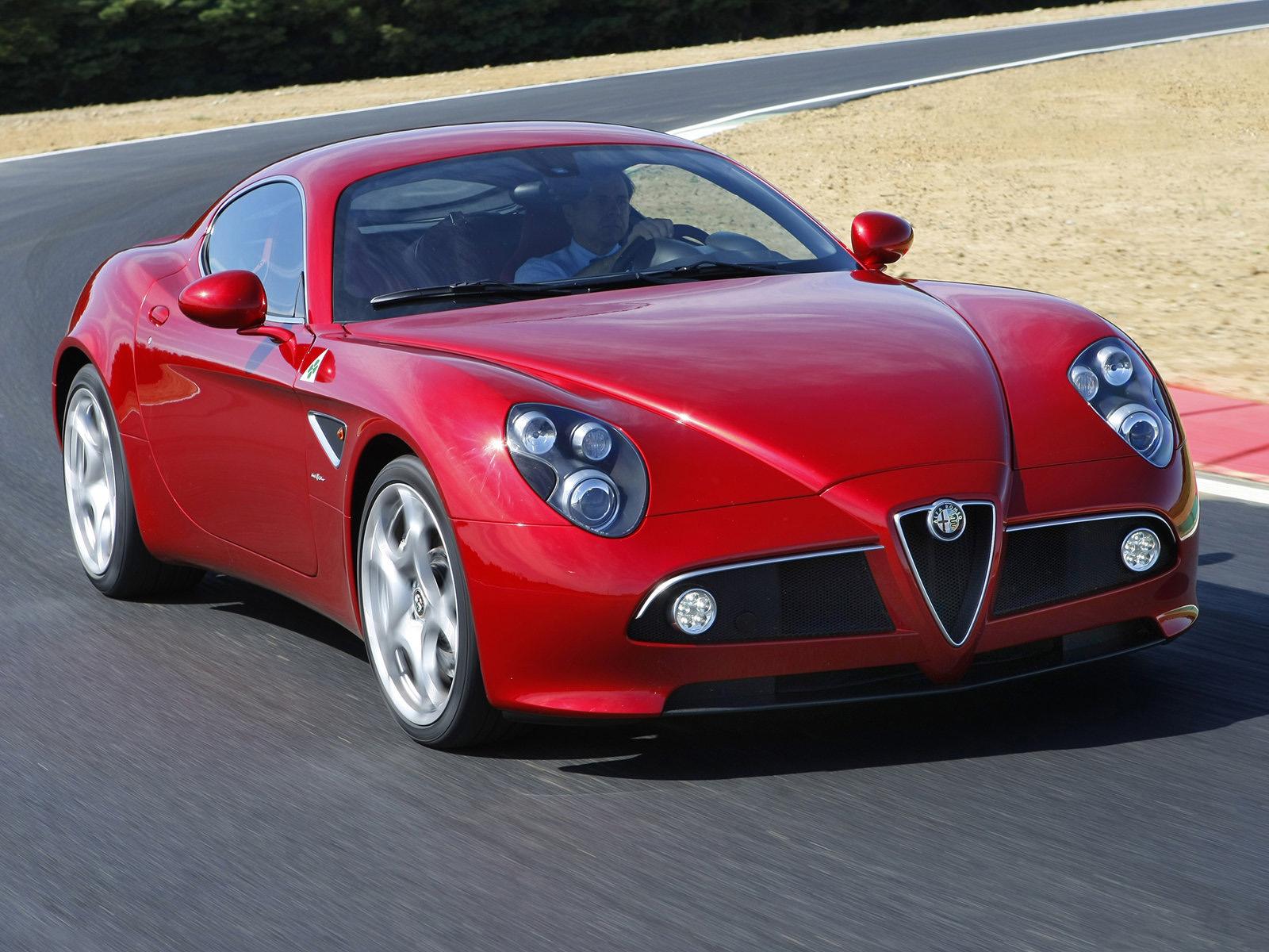 Automotive Database: Alfa Romeo 8C Competizione