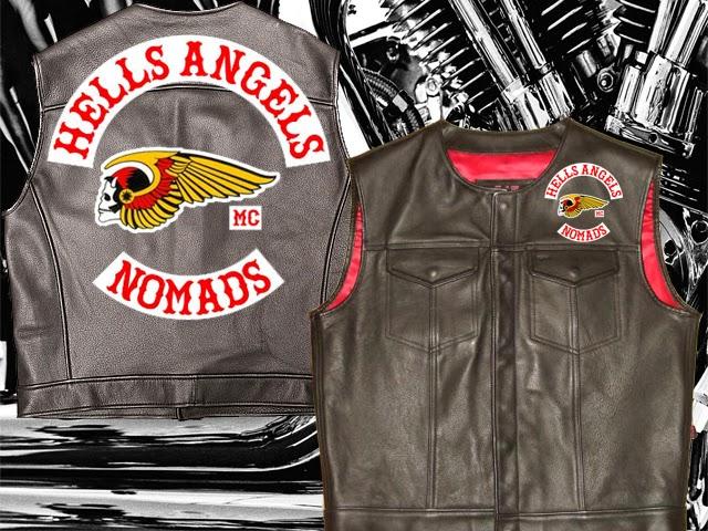 Images of Vintage Hells Angels Vests - #rock-cafe