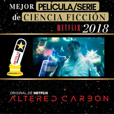 Premios CAPSULAS DE NETFLIX 2018
