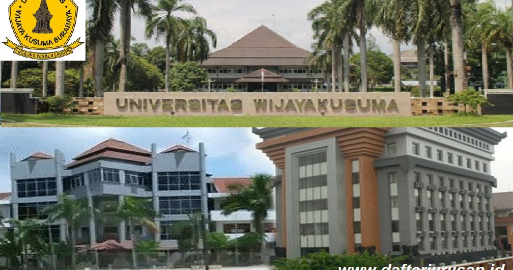 daftar fakultas dan program studi uwks universitas wijaya kusuma rh daftarjurusan id universitas wijaya kusuma surabaya kota sby jawa timur alamat universitas wijaya kusuma surabaya