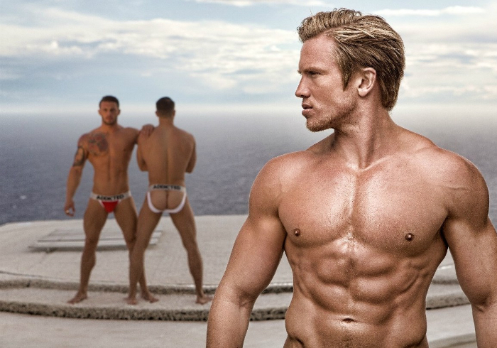 Bruno Rodriguez, Dmitry Strigun and Adam Fletcher • Male Models