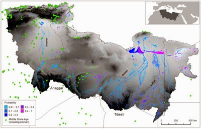 اكتشاف نهر عظيم بصحراء الجزائر