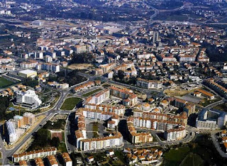 Viseu city view