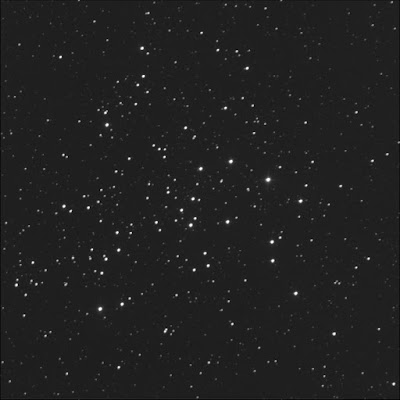 open cluster NGC 1528 in luminance