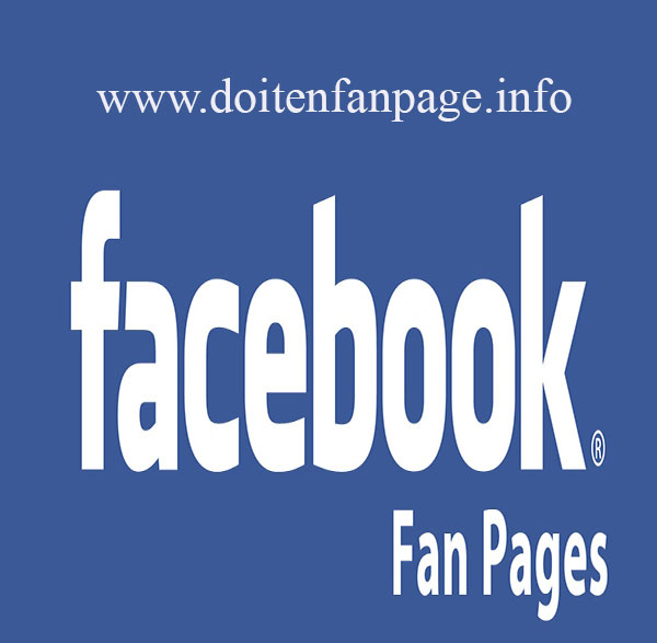 Cach doi ten page facebook