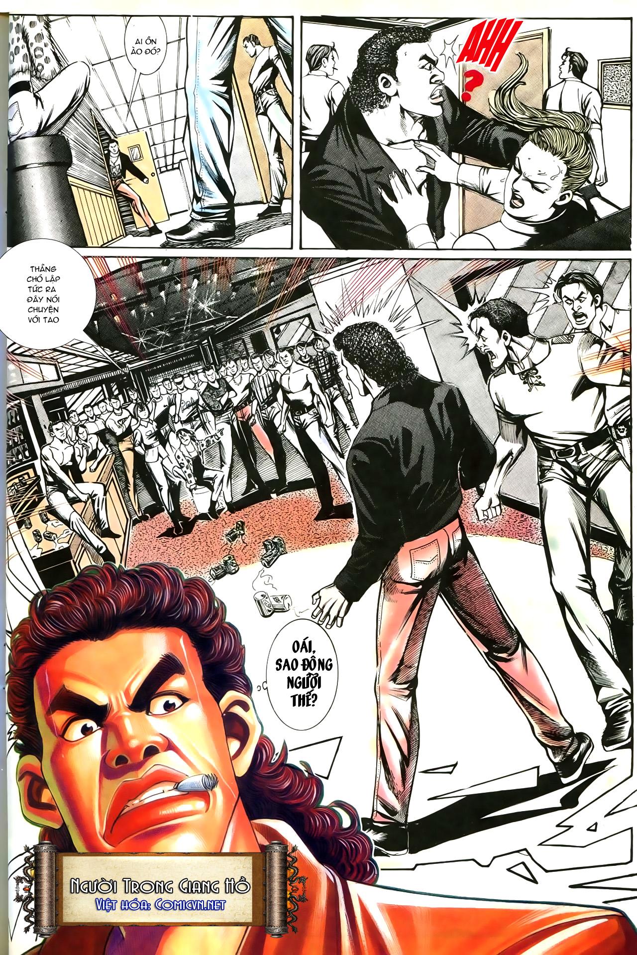 Người Trong Giang Hồ chapter 193: mưu kế đầy bụng trang 27