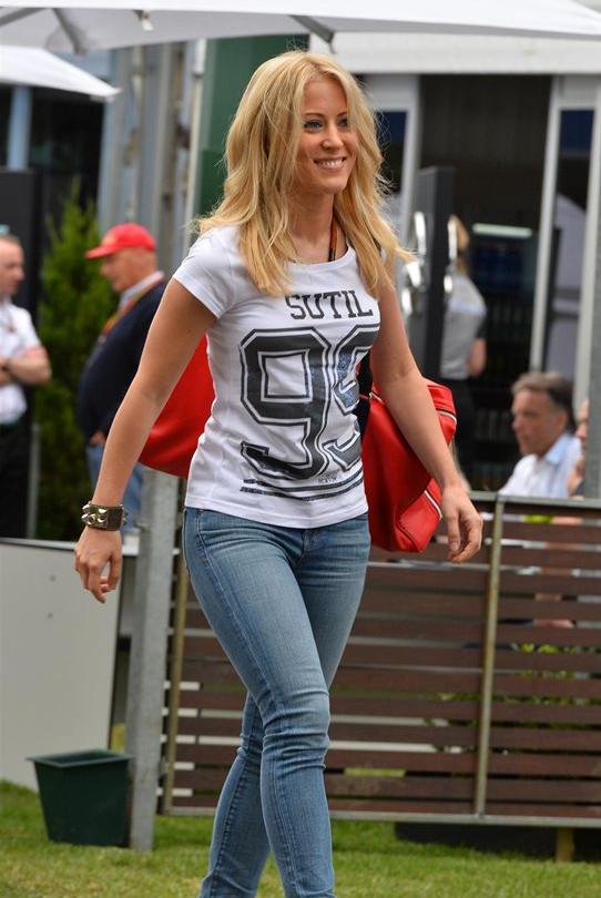 Jennifer Beck novia de Adrian Sutil