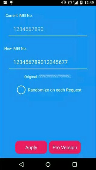 imei changer for android smart phone