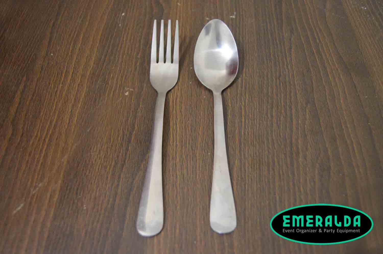 alat catering, sendok makan, garpu makan