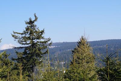 wieża widokowa na Wielkej Sowie